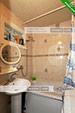 Ванная - двухкомнатная квартира в Орджоникидзе