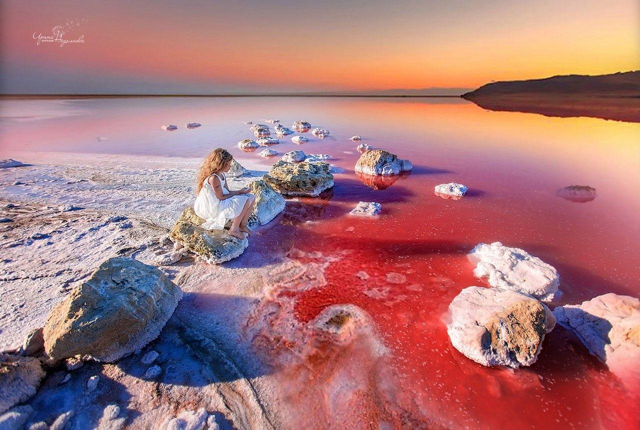 Кояшское озеро (4 фото)