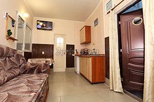 2-й комплекс на 4х - 5х человек в Гостевом доме Крымский кораблик.