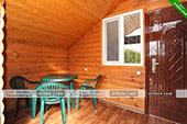 Двухкомнатный номер (деревянный корпус) - мини-отель Магнолия в Орджоникидзе
