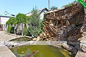 Фонтан - Гостевой дом на Волне в Орджоникдизе, Феодосия.
