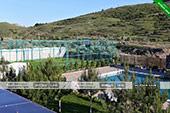 Бассейн и спорт площадка - Гостевой дом на Волне в Орджоникдизе, Феодосия.