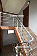 Лестница в гостевом доме на Волне