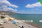 Пляж - Эллинг 16 в кооп. Катран в Орджоникдизе, Феодосия.