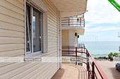 Вид с балкона - Эллинг 49/2 в Катране - Орджоникидзе (Феодосия)