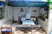 Общая кухня - Коттедж на морской 8 - Орджоникидзе Крым
