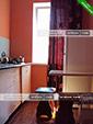 Кухня в четырехместном номере на первом этаже - коттедж на Морской 10 в Орджоникидзе