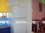 Кухня в трехместном номере на первом этаже - коттедж на Морской 10 в Орджоникидзе