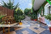 Двор гостевого дома Светлана - Феодосия Крым