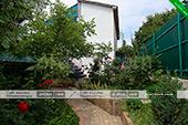 Двор дачного домика Жанна в Орджоникидзе