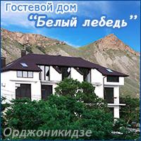 Гостевой дом Белый лебедь в Орджоникидзе