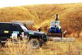 Подготовка трассы для Джип спринта в Орджо