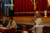 Отчет мэра 18.10.2013 в Орджоникдизе, Феодосия.