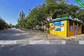 Карта - кафе Старый Крым в Орджоникдизе - Феодосия.