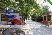 Карта - кафе Оазис в Орджоникдизе - Феодосия.