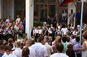 линейка 1-го сентября в школе №6 23