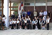 линейка 1-го сентября в школе №6 31